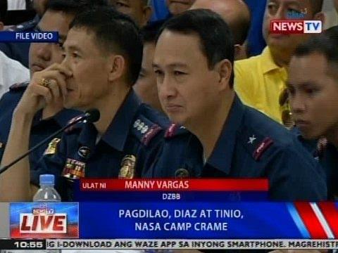 NTVL: Pagdilao, Diaz at Tinio, nasa Camp Crame