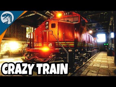 CRAZY DIESEL TRAIN ENGINE REPAIR | Train Mechanic Simulator 2017 Gameplay