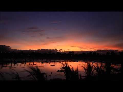 Free Download Timelapse Sunset | Bandung Lautan Api Stadium Bandung West Java Indonesia
