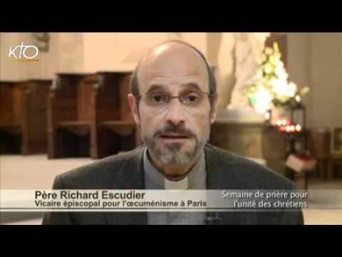 Père Richard Escudier, vicaire épiscopal pour l'oecuménisme à Paris
