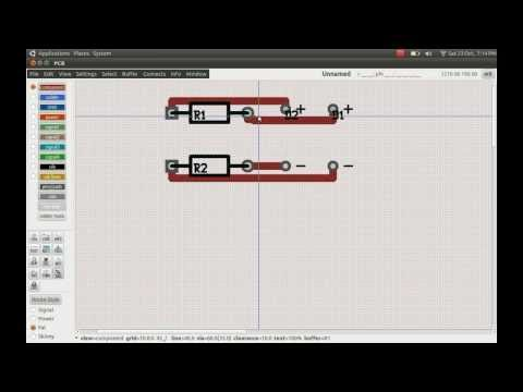 GEDA Schematic To PCB Project - The GEDA Workflow