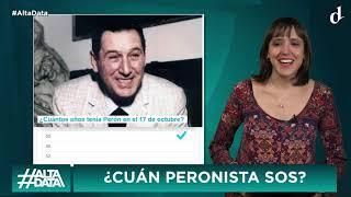 EL DESTAPE - Cristina y Alberto juntos por Perón en La Pampa - #AltaData - 17 10 19