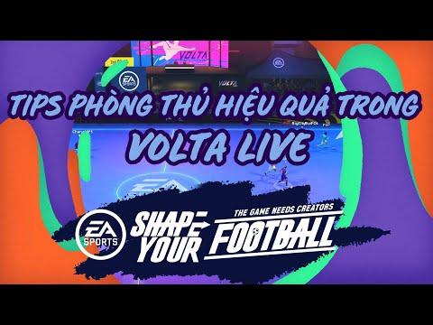 TIPS PHÒNG THỦ HIỆU QUẢ TRONG VOLTA LIVE - Shape Your Football [FIFA Online 4]