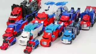 Transformers RID Power Surge Optimus Prime Optimus Prime Truck Vehicle Transformation Robot Car Toys
