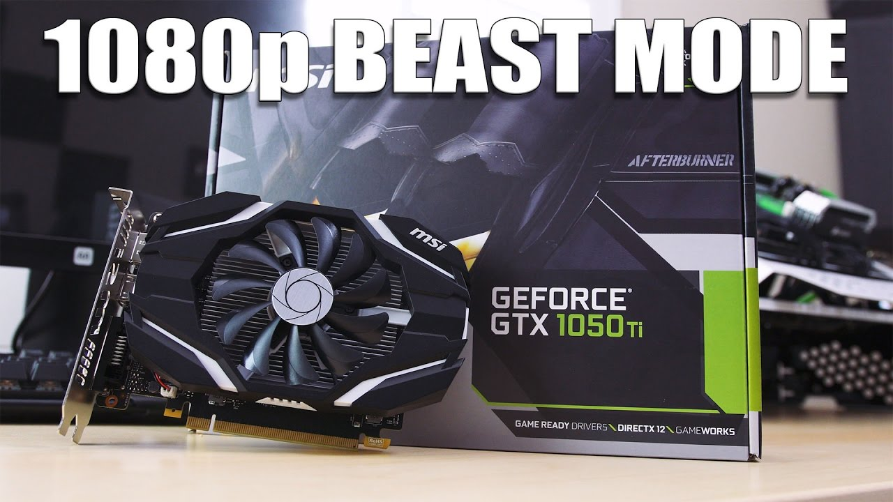 This little video card bangs all your bucks! GTX 1050Ti Reviewed!