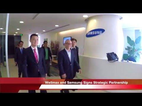 Samsung Electronics And Wellmax Lighting Signs Strategic Partnership MOU