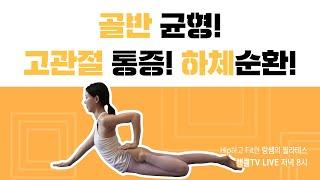 [ LIVE ] 골반 균형! 고관절 통증! 하체 순환!…