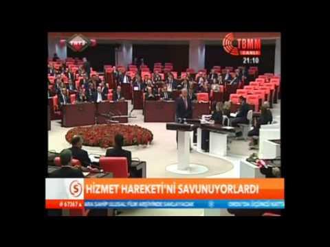 Adalet Bakanı Bekir Bozdağ Hizmet hareketini savunuyordu