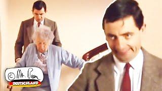 Mr. Bean – Probleme, die Treppe hinunter zu gehen