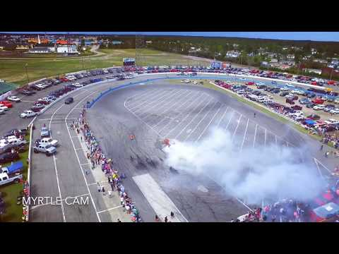 Sky view NOPI nationals 2019  burnt out on Sunday MB SPEEDWAY ..