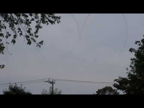 Canadian Forces Snowbirds in Barrie June 2017