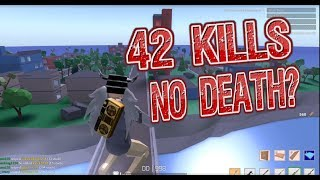 I DID THE IMPOSSIBLE... 42 KILLS WITHOUT DEATH in STRUCID (ROBLOX)