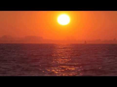 [10 Hours] Orange Sunset and Sea - Video & Audio [1080HD] SlowTV