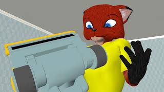 Furry Animation: Fox and a banana ;)