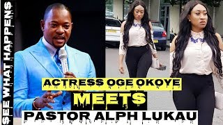 MUST WATCH Actress Oge Okoye Visits Pastor Alph Lukau39s Church See What Happened BukkyOTv