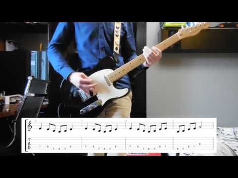 Guitar guitar cover with tabs : Prophets of Rage - The Party's Over Guitar cover with tabs - YouTube