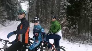 Cycling between Liha and Picin. Pribram district. Czech Republic