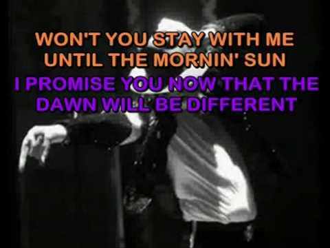 Baby Be Mine (Michael Jackson) Karaoke