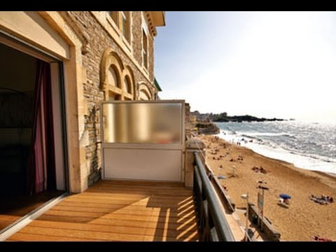 Beachfront apartment in Biarritz with sea views -- FGP1