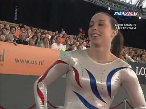 2007 European Artistic Gymnastics Championships. EF. FX (Eurosport) (incomplete)