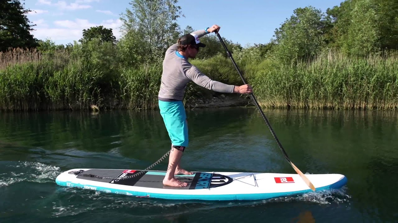 Forward Stroke Paddling Techniques Stand-Up Board