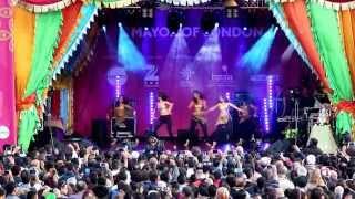 Diwali 2015 celebrations on Trafalgar Square in LONDON (Full HD) Vid-1