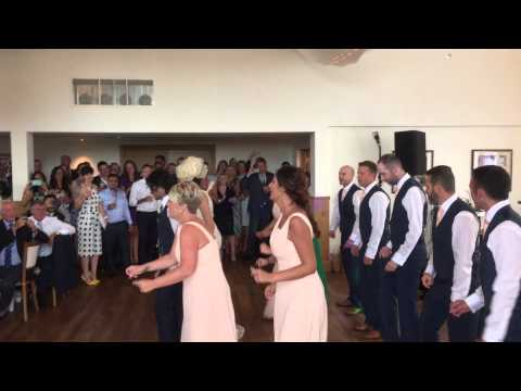 Uptown funk wedding dance