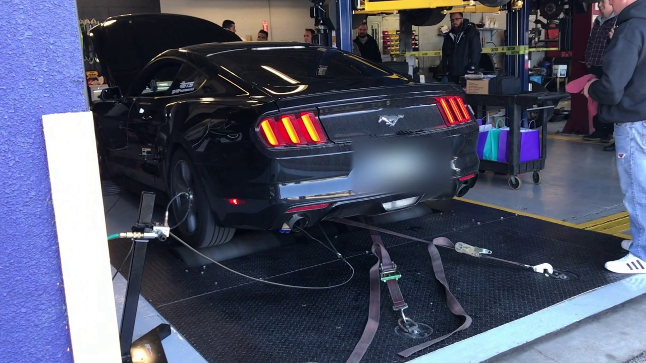 Stratified Tuned Ecoboost Mustang