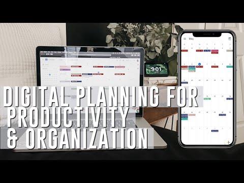 PLAN WITH ME| google calendar organization, custom calendars & time blocking