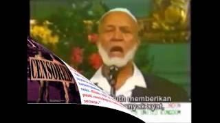 Download Video SERU ! Wanita Kristen Ini MENDAMPRAT Ahmed Deedat Hanya Krn Menukil Ayat Porno Dlm Injil ! Kenapa ? MP3 3GP MP4