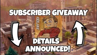 Fortnite | Battle Pass - GIVEAWAY DETAILS ANNOUNCED | Livestream