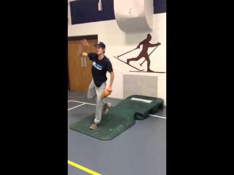 Garrett Gagnon Pitching Over The Top Bullpen