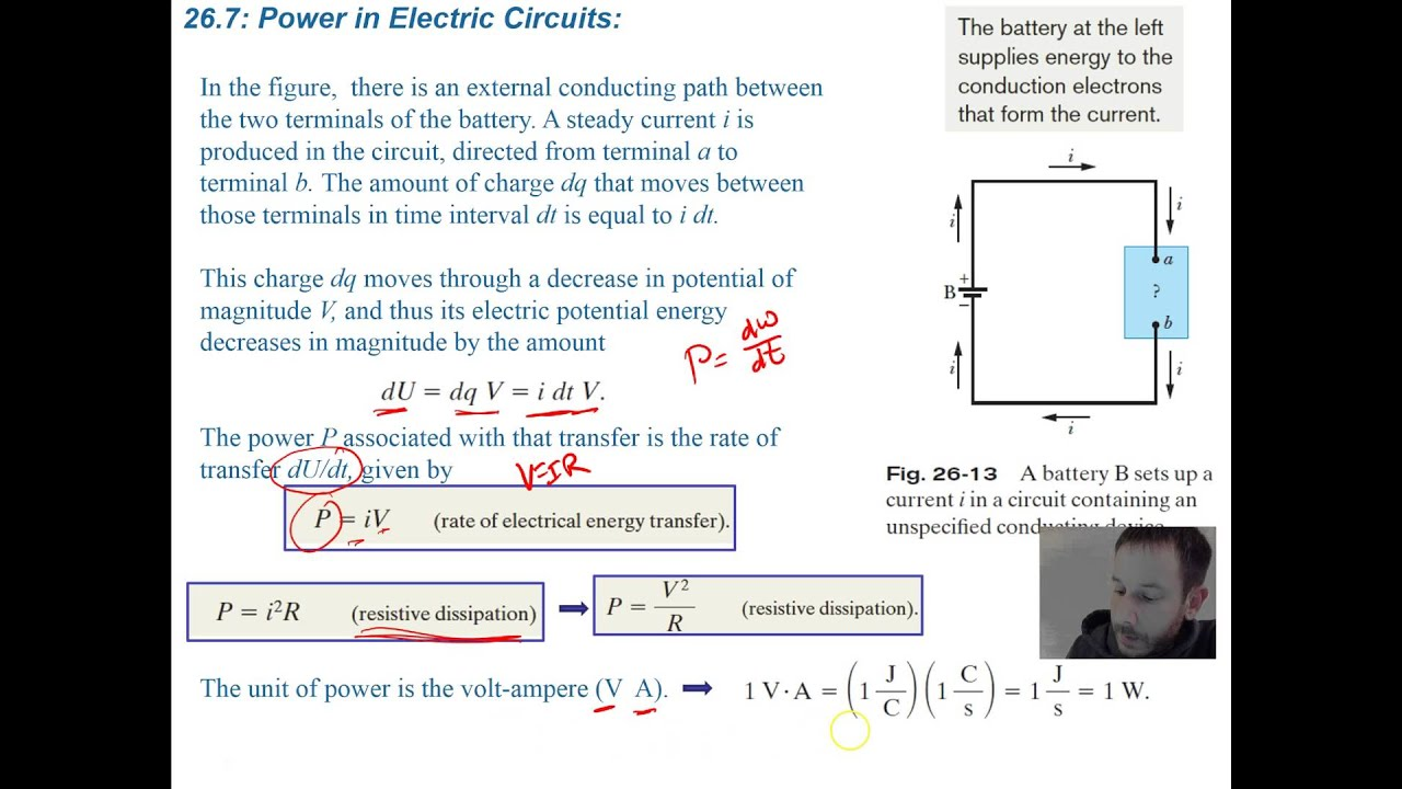 Electricity And Magnetism Serway 275 Youtube
