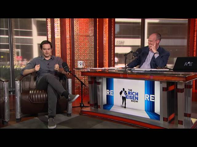 """Actor & Comedian Bill Hader on How The SNL Skit \""""Californians\"""" Started - 8/11/16"""