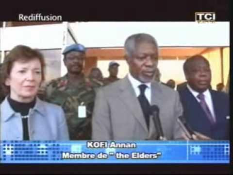Commission Vérité-réconciliation: Koffi Annan, Tutu et Robinson à Abidjan