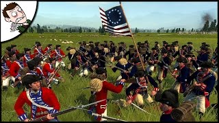 INDEPENDENCE DAY! United Kingdom v United States - Empire Total War Gameplay!