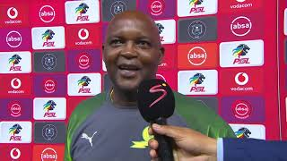 Absa Premiership | Pirates v Sundowns  | Post-match interview with Pitso Mosimane