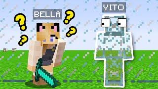 SZKŁO TROLL?! - ZABAWA W CHOWANEGO W MINECRAFT (Hide and Seek) | Vito vs Bella