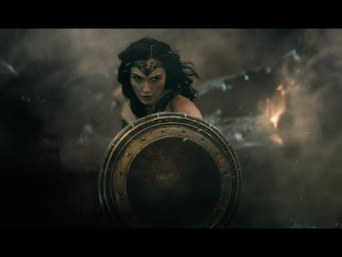 Batman V Superman ''Wonder Woman First Scene & Doomsday Fight'' 1080p