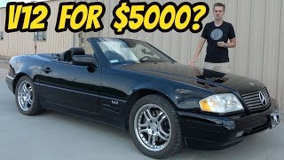 I Bought a Broken V12 Mercedes SL600 for only $5000