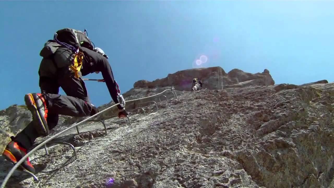 Klettersteig Fürenwand : Fürenwand klettersteig via ferrata engelberg youtube