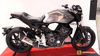 2019 Honda CB1000R with Zard Exhaust - Walkaround - 2018 EICMA Milan