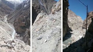 Driving In The Himalayas With 15,000FT Drop