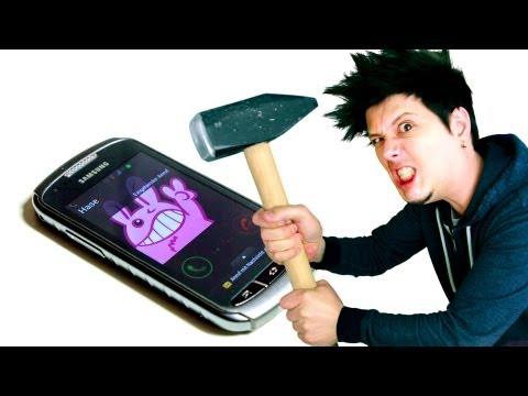 Wie viel hält das Handy aus? - Xcover 2 EXTREME UNBOXING
