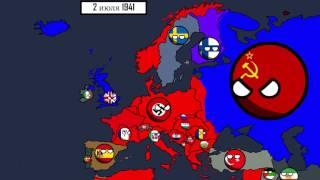 Вторая Мировая война до 9 мая 1945. Путь к Параду Победы 9 мая.