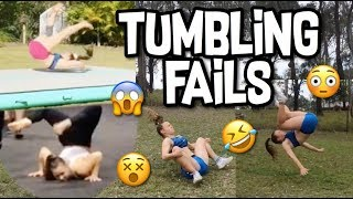 TRY NOT TO LAUGH FAILS | TUMBLING FAILS | MY ULTIMATE FAIL COMPILATION | CHEER AND GYMNASTICS FAILS