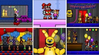 SUPER FNaF ★ ALL MINIGAMES ★