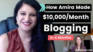 pro Blogger Bundle Review - Amira Went from 0 to 10,000 Per Month Blogging!