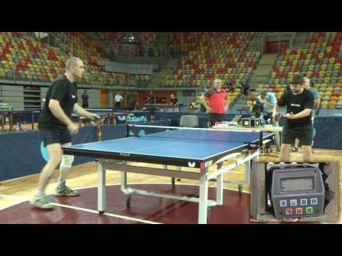 Guinness World Records - Fastest table tennis ball hit in competition (male) - 116 km/h!
