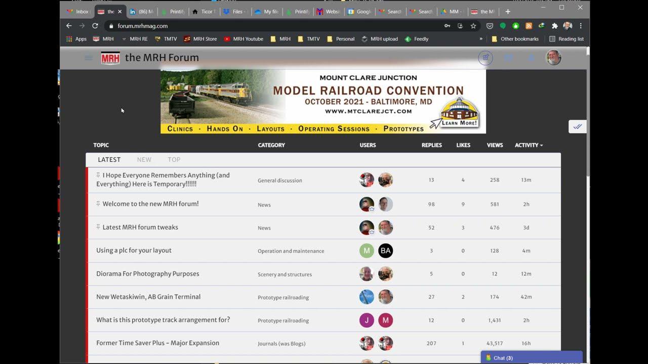MRH - Logging into the new forum (beta)